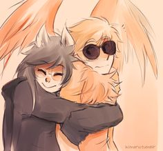 Seriously, people who shipped this two just to see Davesprite / Jade to be happy deserves an award.