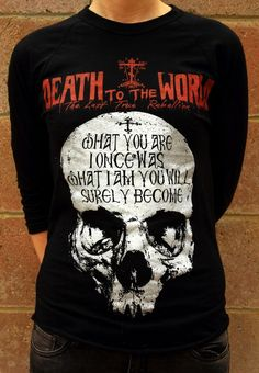 Awesome death to the world Orthodox shirt: