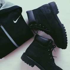Timberlands and Nike