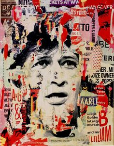 """Saatchi Art Artist Michiel Folkers; Painting, """"I accept you as I am (Herman Brood)"""" #art"""