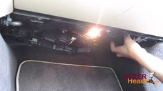 Cabin air filter replacement - Jaguar XJ