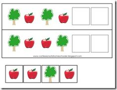 A great concept to teach. Patterns are DAP for preschool and kindergarten age. An important concept for them to learn.