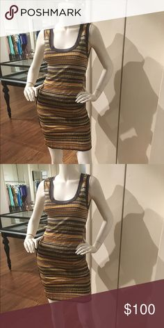 M Missoni dress US size 6 Off the real real. Never returned it. Pretty colors. M by Missoni Dresses Mini