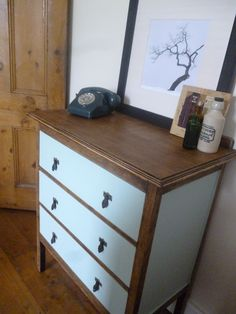 Two Tone Chest of Drawers