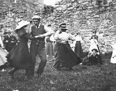 With the evolution of madhouses pre-19th century to County asylums after the turn of the century, recreation and leisure activities such as dancing was considered a vital link to recovery and rehabilitation. Well-dressed patients welcomed the music and dancing pictured here at the Monrose Royal Asylum, Scotland  Read more: http://www.dailymail.co.uk/news/article-4697774/Book-reveals-treatment-mentally-ill-19th-century.html#ixzz4zwAMClcB  Follow us: @MailOnline on Twitter | DailyMail on…