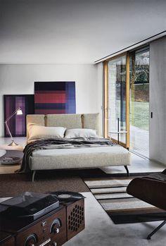 Modernes Doppelbett LEGAMI by Emaf Progetti Zanotta