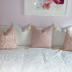 Blush Pillow Cover Light Pink Pillow Covers, Pink Texture Pillow Cover, Pink Tassel Pillow, Blush Pink Pillow Cover with Tassels Blush Pillows, White Pillows, Down Pillows, Accent Pillows, Bed Pillows, Pink Pillow Covers, Pink Texture, Pillow Texture, Round Pillow