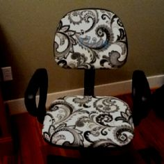 DIY home office chair
