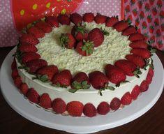 Doğum günü pastası, birthday cake Cool Birthday Cakes, Easy Cake Recipes, Food Cakes, Raspberry, Cheesecake, Cookies, Fruit, Desserts, Decoration