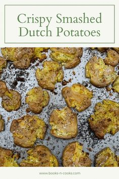 Crispy Smashed Dutch Potatoes are like irresistible french fries – crispy and perfectly seasoned – but healthier. Naturally gluten-free and vegan, these little potatoes can be dressed up for a fancier dinner at home but are equally at home next to your favorite comfort-food. Potato Side Dishes, Best Side Dishes, Healthy Side Dishes, Vegetable Side Dishes, Side Dish Recipes, Dinner Recipes, Sweets Recipes, Lunch Recipes, Delicious Recipes