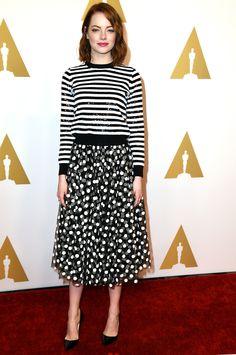 Emma Stone - 2015 Oscar Nominees' Luncheon - Michael Kors