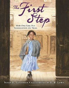 Thanks to Donalyn Miller for introducing us to this powerful book about the first lawsuit to demand desegregation. This historical event took place in Boston and demonstrates the importance of never giving up. The story is inspiring. The illustrations cause you to pause and reflect. It is a book that should not be missed.