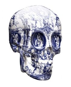 Love this artist- saw his work in High Fructose Magazine and fell in looove- he makes porcelain guns with the same print!