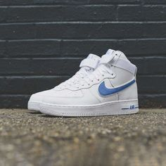 "06d2df7749885f KIX   LIDZ  Nike Air Force 1 High 07 ""White Photo Blue"""