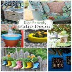 A Roundup of 24 Eco-Friendly Patio-Decor Ideas - Green Homes - MOTHER EARTH NEWS