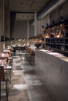 Interior design restaurant Rambla