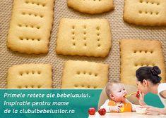 Biscuitii Petit Beurre pot fipotriviti pentru bebelusii de 8-10 luni daca ii pregatesti in casa. Desi biscuitii petit beurre din magazin se topesc in gura si sunt pe placul tuturor incearca sa-i eviti pana spre varsta de 3-4 ani a copilului!