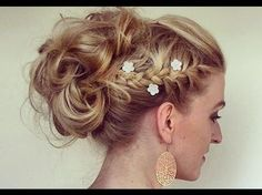 Learn about these natural makeup products Pic# 3218 Braided Hairstyles Updo, Formal Hairstyles, Wedding Hairstyles, Brown Blonde Hair, Makeup Designs, Gorgeous Makeup, Bad Hair, Hair Art, Natural Makeup