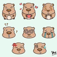#iconaday #design #icons #designchallenge #flatdesign #vector #cartoon #cartoons #illustration #illustrator #artwork #art #digitalpainting #digitalart #graphicdesign #drawing #drawings #illustrations #vector #bear #cute #emoji #emoticon #emoticons #animal #表情包 #涂鸦 by ar_yue