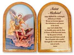Sacred Heart of Jesus Folding Plaque. Saint Michael, Our Lady Of Lourdes, The Cross Of Christ, Heart Of Jesus, Last Supper, Blessed Virgin Mary, Wall Crosses, Holy Family, Sacred Heart