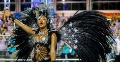 A rainha de bateria da Vai-Vai, Camila Silva