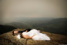 pedra do bau, trash the dress - Clareana + Beto