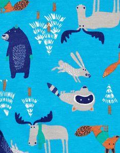 print & pattern: KIDS DESIGN - john lewis Baby Illustration, Illustrations, Kids Patterns, Print Patterns, Japanese Ink Painting, Forest Creatures, Kids Wallpaper, Inspirational Artwork, Kids Prints