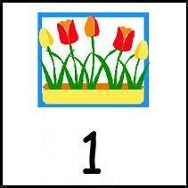 Free Printable May Calendar Pieces