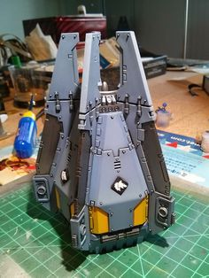 The Hammer of Wrath: H.O.W. TO: Assembling & Painting a Space Wolves Drop Pod