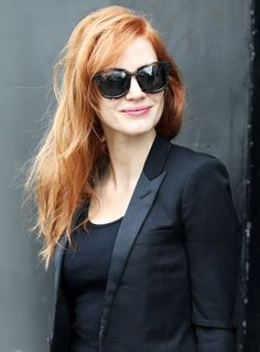 Jessica Chastain Just Won Life, & Here Are The Pics To Prove It+#refinery29