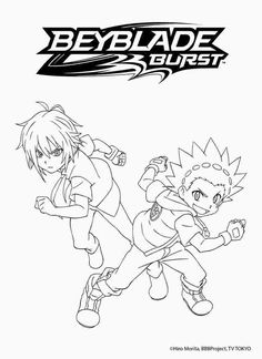 Beyblade Burst Valtryek Colouring Pages (With images ...