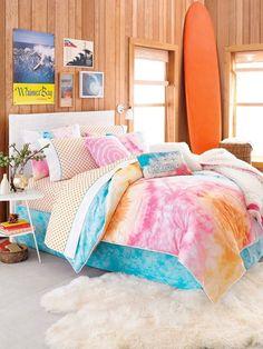 Tropical bedroom!