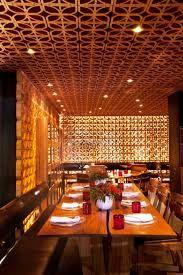 Afbeeldingsresultaat voor indian restaurant interior design