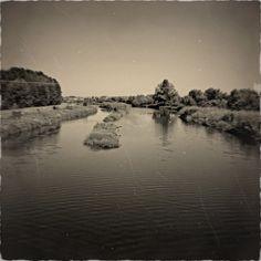 Řeka Jihlava a Svratka se setkávají :) - v retro :D