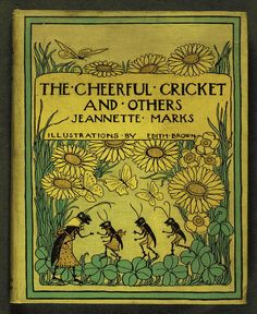 The Cheerful Cricket and Others, 1907. (book cover)