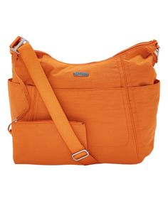 Look at this #zulilyfind! Papaya Adjustable-Strap Hobo Tote by baggallini #zulilyfinds