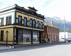 Railroad Building.  Skagway, Alaska