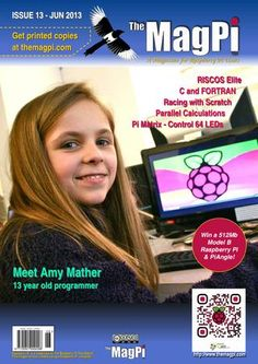 Download Issue 13 of The MagPi Digital Magazine for lovers of the Raspberry Pi