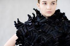 Morana Kranjec sculptural clothes - Photo 1 | Image courtesy of Morana Kranjec.  What a nice thinking!