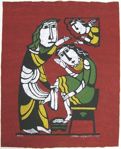 Christ Washing the Feet of Saint Peter Artist: Sadao Watanabe 1987 http://www.japaneseprintart.com/art.cfm?rec_id=4437
