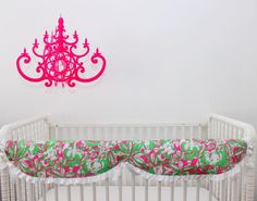 Did you hear? Rail covers are BOGO all month long! This #Lilly rail cover is perfectly preppy!  #lilly #lillydecor #lillybaby #preppy #preppydecor #preppybaby #preppynursery #preppybabybedding #preppydecor #babybedding #nurserybedding #cribbedding #nursery #NurseryDecor #interiordesign #interiordesigner