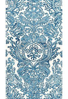 Schumacher Tremezzo Damask Custom Drapes in Graphite (Also comes in Caspian) Curtain Patterns, Fabric Patterns, Print Patterns, Custom Drapes, Custom Pillows, Textile Design, Fabric Design, Damask Curtains, Custom Roman Shades
