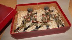 Antike Masse Soldaten 10,5 cm Elastolin unbenutzt Vintage Toy Soldier   eBay