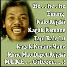 muke gileee Quotes Lucu, Funny Memes, Jokes, Missing You Quotes, Love Sick, Praying To God, Keep Smiling, Clint Eastwood, Powerful Words
