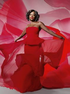 Actress Viola Davis for The Wrap Magazine's Emmy Comedy-Drama Issue, June 2015.