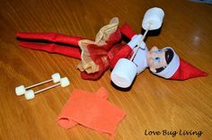 Adorable Elf on a Shelf Ideas, definitely getting one of these this holiday season.