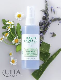 We're obsessed with Mario Badescu face sprays, perfect for a spritz of soothing hydration. Meet the latest to join the lineup—lavender, with aloe and chamomile to calm and nourish skin. Use it to any time to moisturize your face, with or without makeup on. Hair Care Routine, Hair Care Tips, Hair Tips, Ultra Beauty, Face Spray, Face Mist, All Things Beauty, Beauty Stuff, Sprays