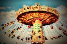 """Old Carnival Days""  by Jeri Leandera."
