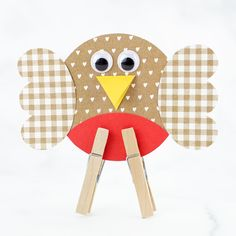 Paper Robin Bird Craft