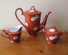 Vintage Noritake Teapot, Sugar and Creamer Set from WhimsicalVintage on Ruby Lane